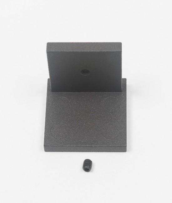 Заглушка для профиля несущего UNO, темная бронза - Raumplus